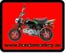 Номер Honda Monkey с MOTO