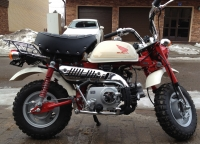 Honda Monkey FI White