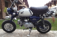 Honda Monkey FI Blue
