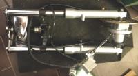 Передняя вилка Minimoto c дисковым тормозом и ступицей